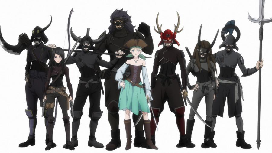 Fena: Pirate Princess, la nuova avventura piratesca firmata Crunchyroll arriverà nel 2021